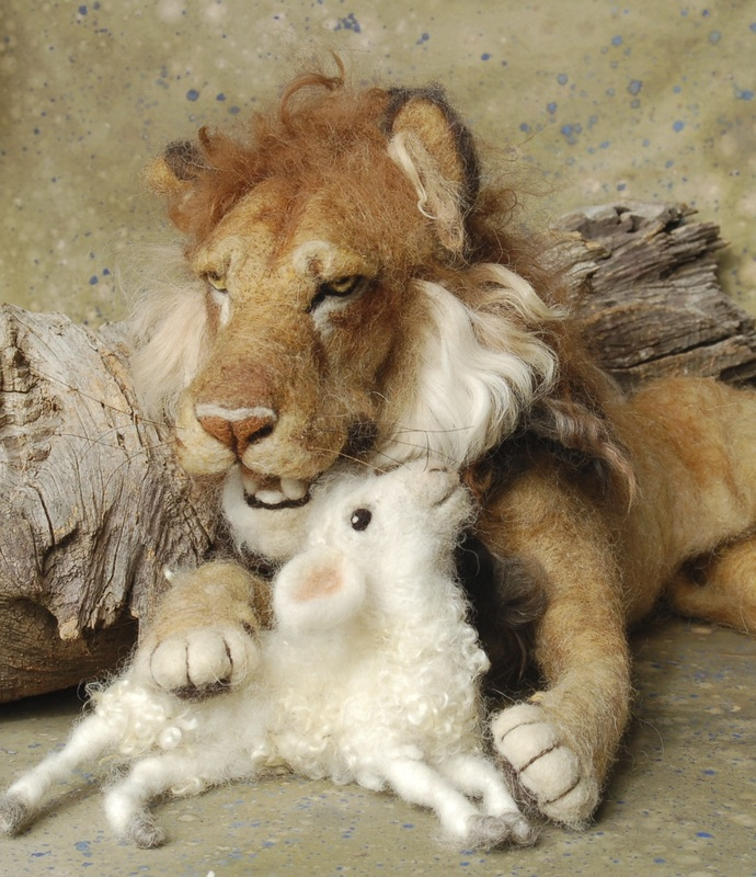 Lion and Lamb by Sara Renzulli