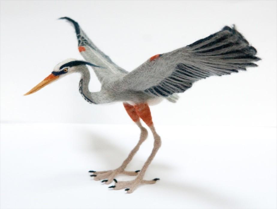 Kiyoshi Mino - Heron